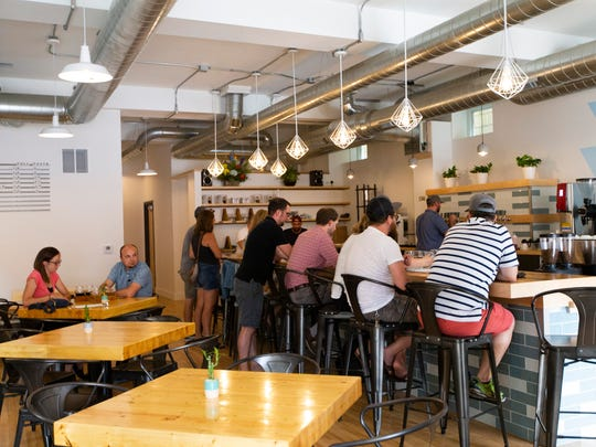 Vennture Brew Co. serves fresh-brewed coffee and beer