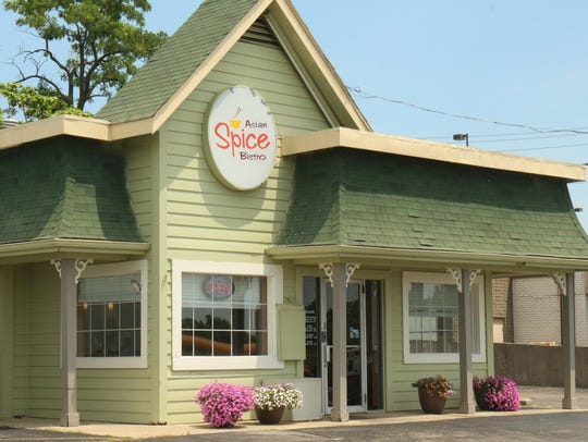 Asian Spice Bistro is at 3474 North Bend Road. It opened