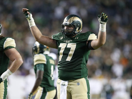 Jake Bennett, a three-year starter and All-Mountain West center for CSU's football team, was selected by the Saskatchewan Roughriders on Wednesday in the Canadian Football League's supplemental draft.