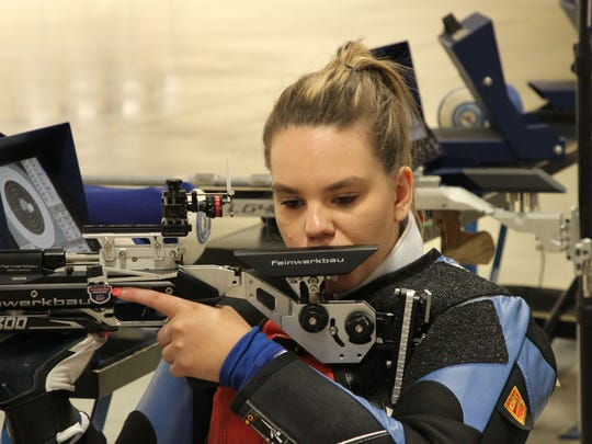 Castalia's Taylor Farmer quickly became an elite shooter practicing at Camp Perry.