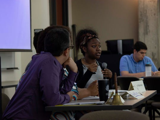 People particpate in a discussion in May at Data Day, an annual event that aims to bring together people who need data and people who have data. This year's event was sponsored by Data You Can Use, a Milwaukee-based nonprofit.
