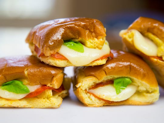 Robin Miller suggests Portable Pepperoni Sliders for