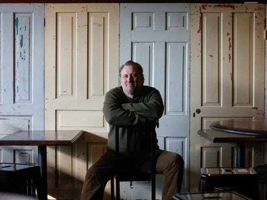 Restaurateur David Weir in 2015. Weir, who ran Buckley's Tavern in Centreville for more than 20 years and later opened Goat Kitchen & Bar in north Wilmington, died suddenly Saturday.
