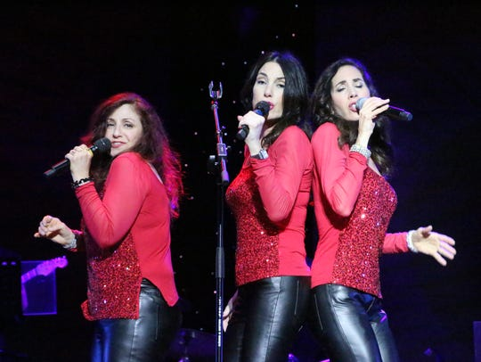 Tre Bella, which blends three-part harmonies with Italian-American
