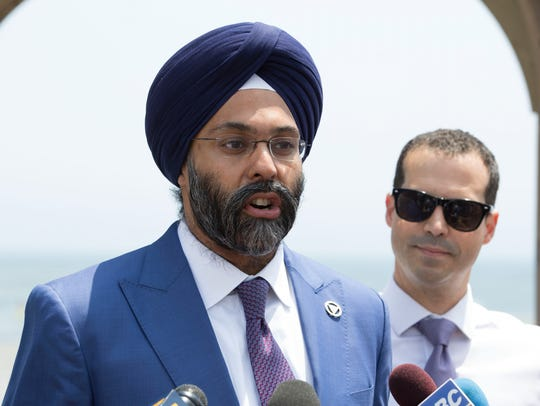 New Jersey Attorney General Gurbir S. Grewal and Acting