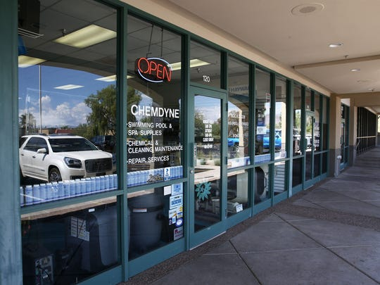Chemdyne Pools & Spas store on July 12, 2018, in Fountain Hills, Ariz. on July 12, 2018, in Fountain Hills, Ariz.