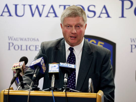 Wauwatosa Police Chief Barry Weber in a picture from 2016.