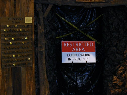 The Hubbard Mine is currently under redevelopment to include interactive activities and have a more real feel to it.