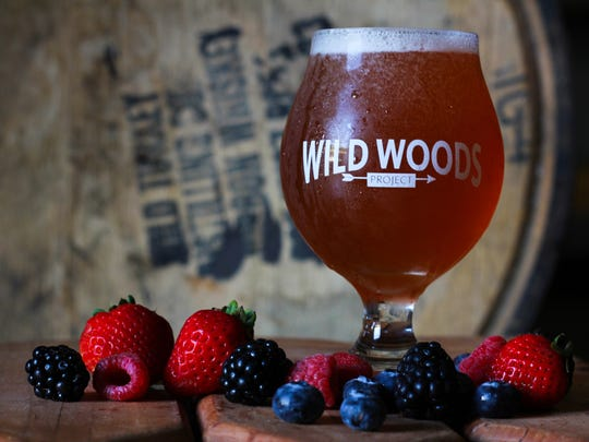 """The Lake Tribe Brewing Wildwoods Project release will include  """"Black'Bear'y"""" (blackberries, blueberries, strawberries, raspberries and bourbon-barrel aged)."""