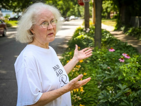 """Mary Farrell is a self-described """"little white-haired"""