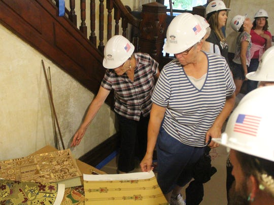 The Harding Home restorers will have reproductions