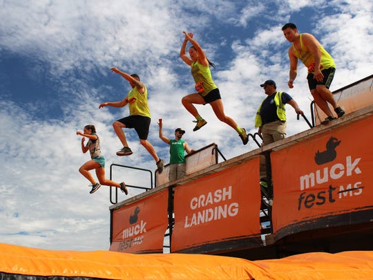 MuckFest MS 2018 was the perfect event for those new to mud runs; accessible and not too physically intensive. Thousands of people turned out to spectate and participate in the 2018 MuckFest in the Somerset section of Franklin Township.