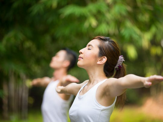 Often described as meditation in motion, Tai Chi promotes serenity through gentle, flowing global movements of the body. It can also help you maintain your balance and decrease your fall risk.
