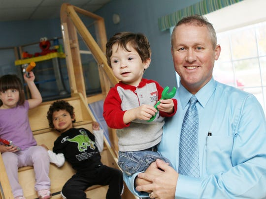 Chris Truelove, executive director of Special Kids Inc., stands in one of the therapy rooms.