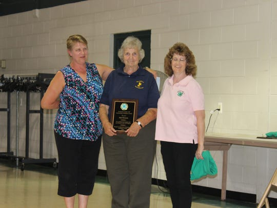 This year, two Somerset County 4-H Leaders —Judy Hennessy (pictured) and Betty Sommerville —and two Alumni— Alyson Weiss and Mellissa Smutko —have been recognized for their efforts and dedication, by being awarded the 4-H Outstanding Volunteer and Outstanding Alumni Award. All were recognized on July 18, during a 4-H Association meeting, as well as a dinner reception in their honor on July 25.