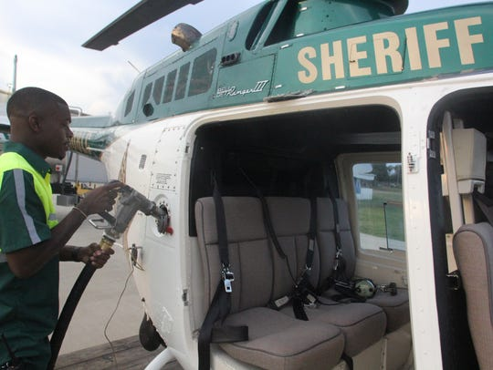 LCSO gets its jet fuel fr its three helicopters from