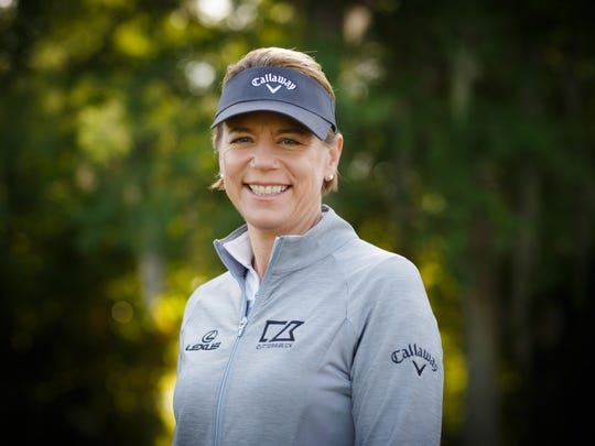 Annika Sorenstam will host a golf clinic later this month.