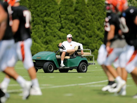 Cincinnati Bengals training camp, Aug. 14