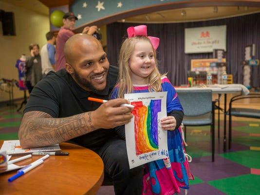Jurrell Casey starlight children's foundation