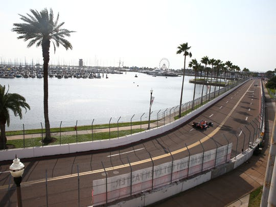 St. Petersburg's scenic IndyCar course.