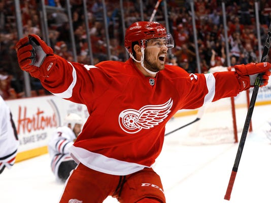 Tomas Tatar Red Wings
