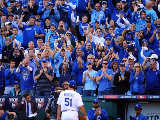 After Jason Vargas departed in the sixth inning, handing