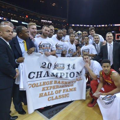 Nov 25, 2014; Kansas City, MO, USA; The Maryland Terrapins