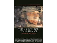 Thank You For Your Service Advance Screening