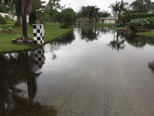 Flooding in Brevard lingers after Irma and following