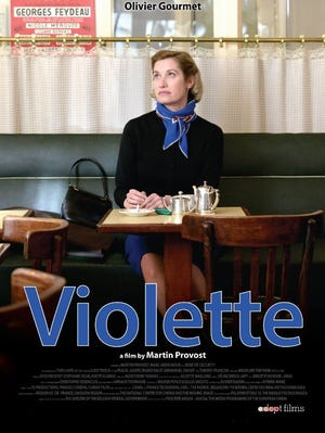 """Film poster for the movie """"Violette."""""""