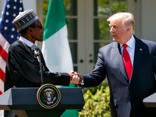 AP TRUMP US NIGERIA A USA DC