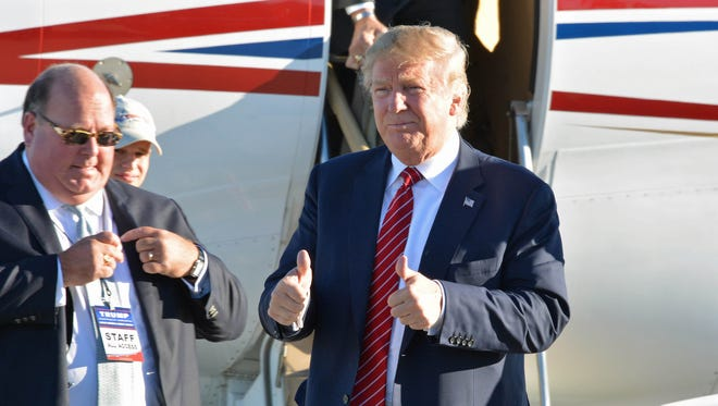 South Carolina Lieutenant Governor Henry McMaster endorsed billionaire Donald Trump, pictured, for president late Wednesday.