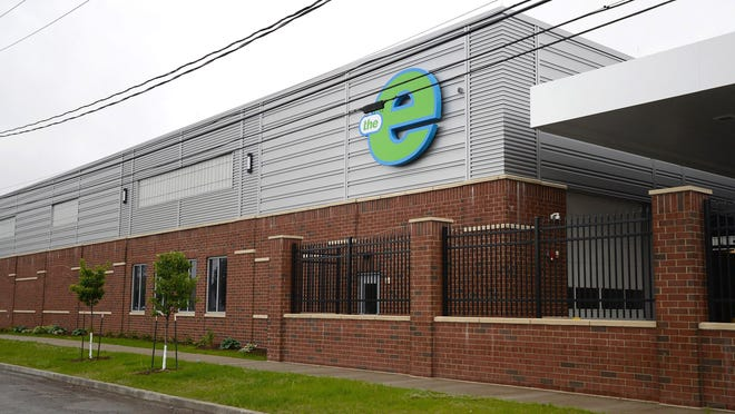 The Erie-Metropolitan Transit Authority's new bus garage is located on East 14th Street.