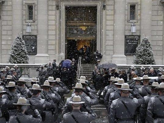 APTOPIX Mario Cuomo Funeral
