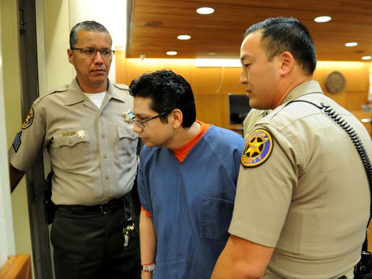 Marco Casillas was sentenced Wednesday morning to life