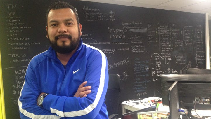 Alejandro Serrano, of cloud-base data managers Gestionix, is part of the growing group of entrepreneurs and investors operating in Startup Mexico, an innovation campus in northwest Mexico City. The city is on the rise as a tech hub for Latin America.