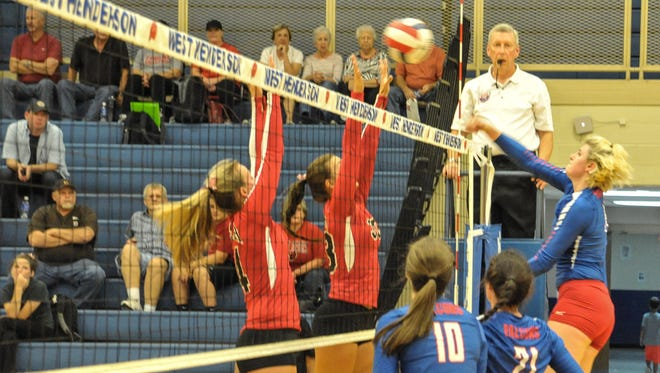 Taylor Houck and the West Henderson volleyball team are 17-0.