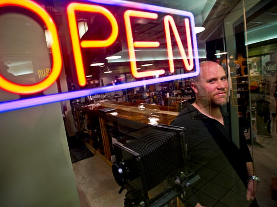 Jason Robinson, owner of LeZot Camera, moved his business