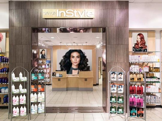 The Salon by InStyle opened in JC Penny at Haywood