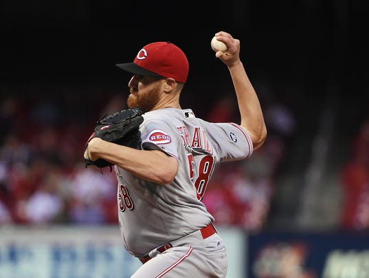 MLB: Cincinnati Reds at St. Louis Cardinals