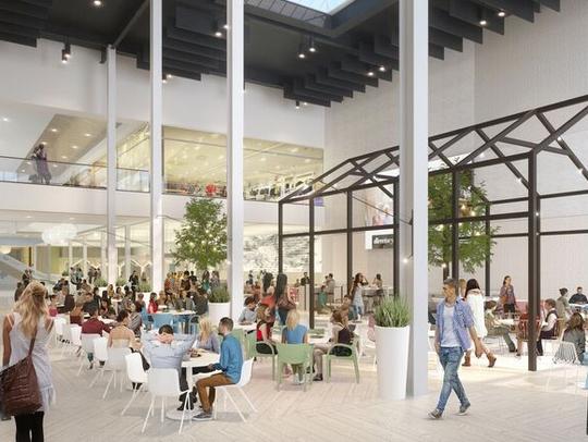 Northpark Mall is undergoing  a multi-million renovation.