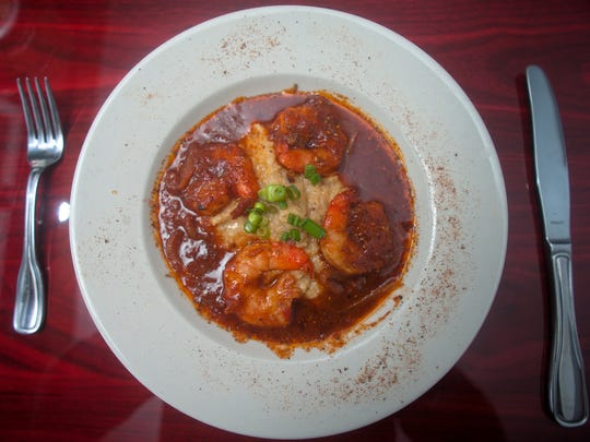 A shrimp and grits dish fights the chill at The Riverpark