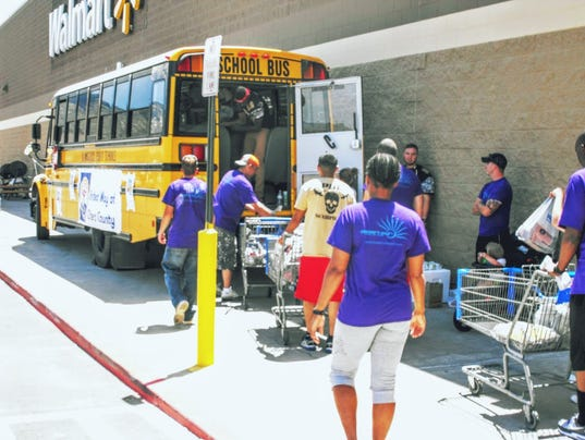 United way to collect supplies for students in need for Desert sun motors alamogordo