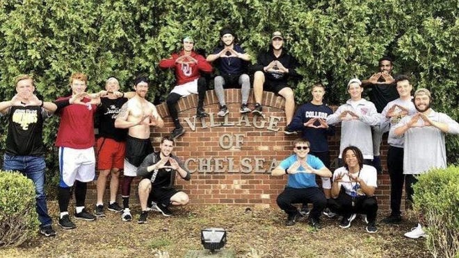 Adrian College fraternity Tau Kappa Epsilon ran to Chelsea last year and raised more than $2,000 for St. Jude Children's Research Hospital. The fraternity will make the run again on Oct. 25 and is accepting donations.