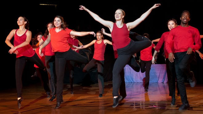 The Contemporary Dance Theater performs during Look Who's Dancing Season Nine at the Pan American Center Sunday afternoon.