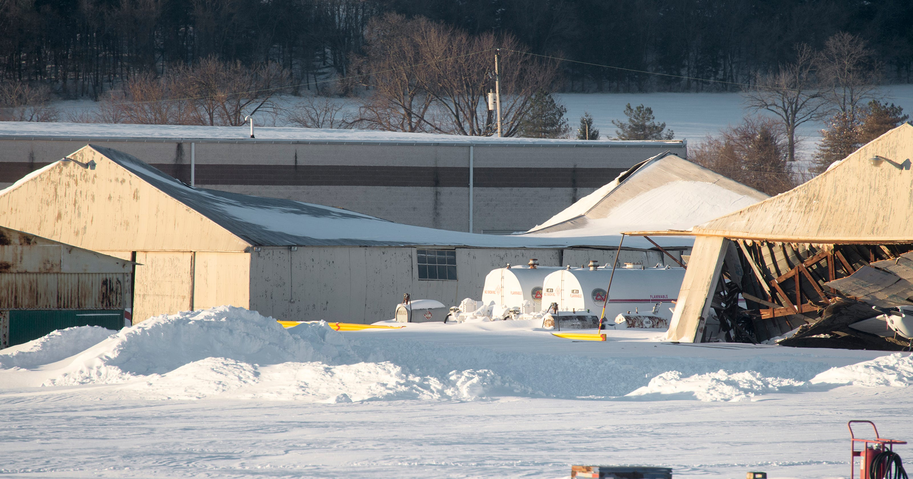 Roofs Collapse From Weight Of Snow In York County