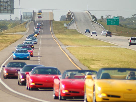 Corvette enthusiasts from across the Space Coast will