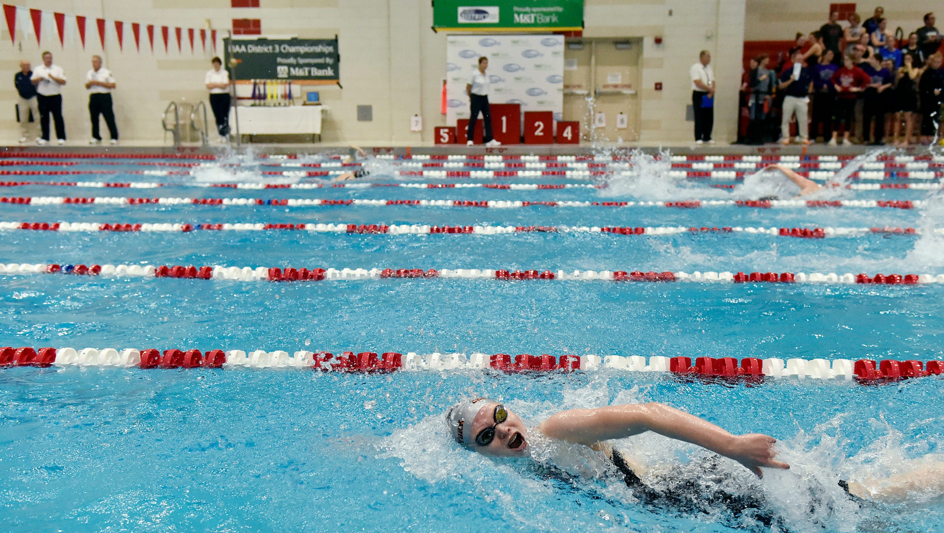 Photos: District 3 AAA boys' and girls' swimming championships