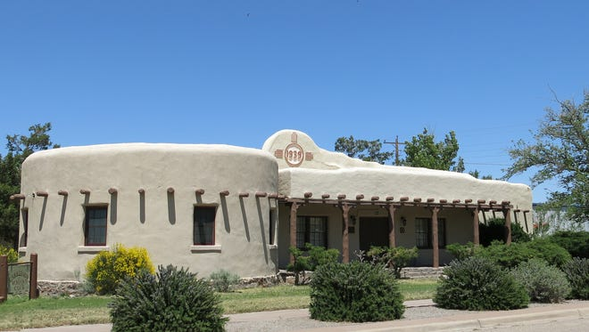 The Woman's Club is one of the historic structures in the town of Carrizozo.
