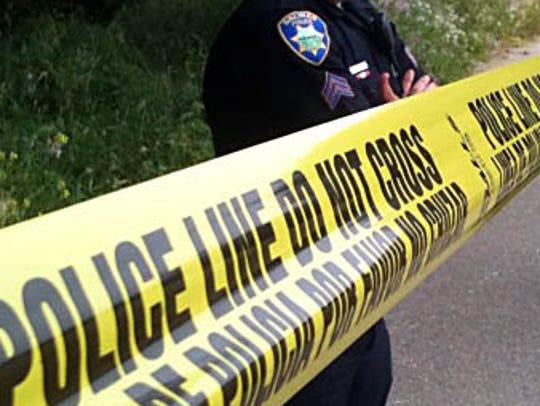 FILE: Salinas Police investigate a scene in 2010.